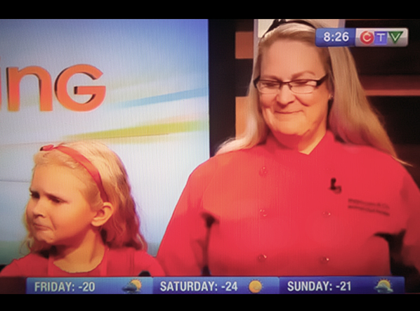 Chef Cindy with Maddie Live on CTV Morning