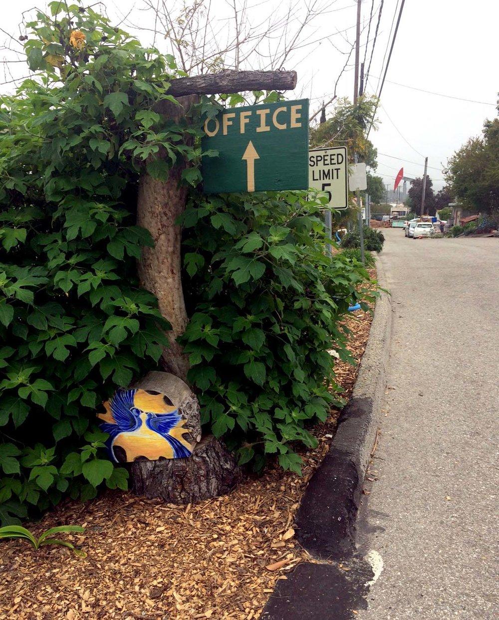Bike trail RVI Entry garden.jpg
