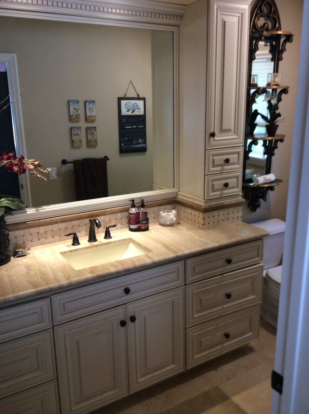 Bathroom Remodel by North-West Construction Grass Valley, CA