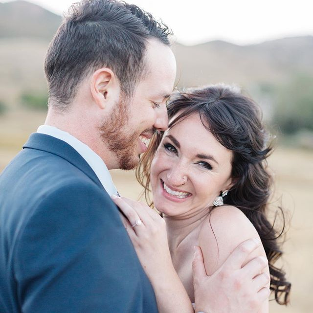 There is a depth of joy that is uniquely experienced inside true love, and what a special gift it is!  Photographer: @emsaccophoto