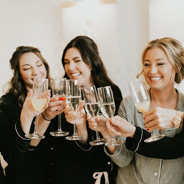 Cheers to the weekend! We hope it's filled with your favorite people, laughter and soaking up the memories because whatever season you are in is a gift!  Also, we can't go without mentioning the beauty of this bride and trust us her heart is just as beautiful!