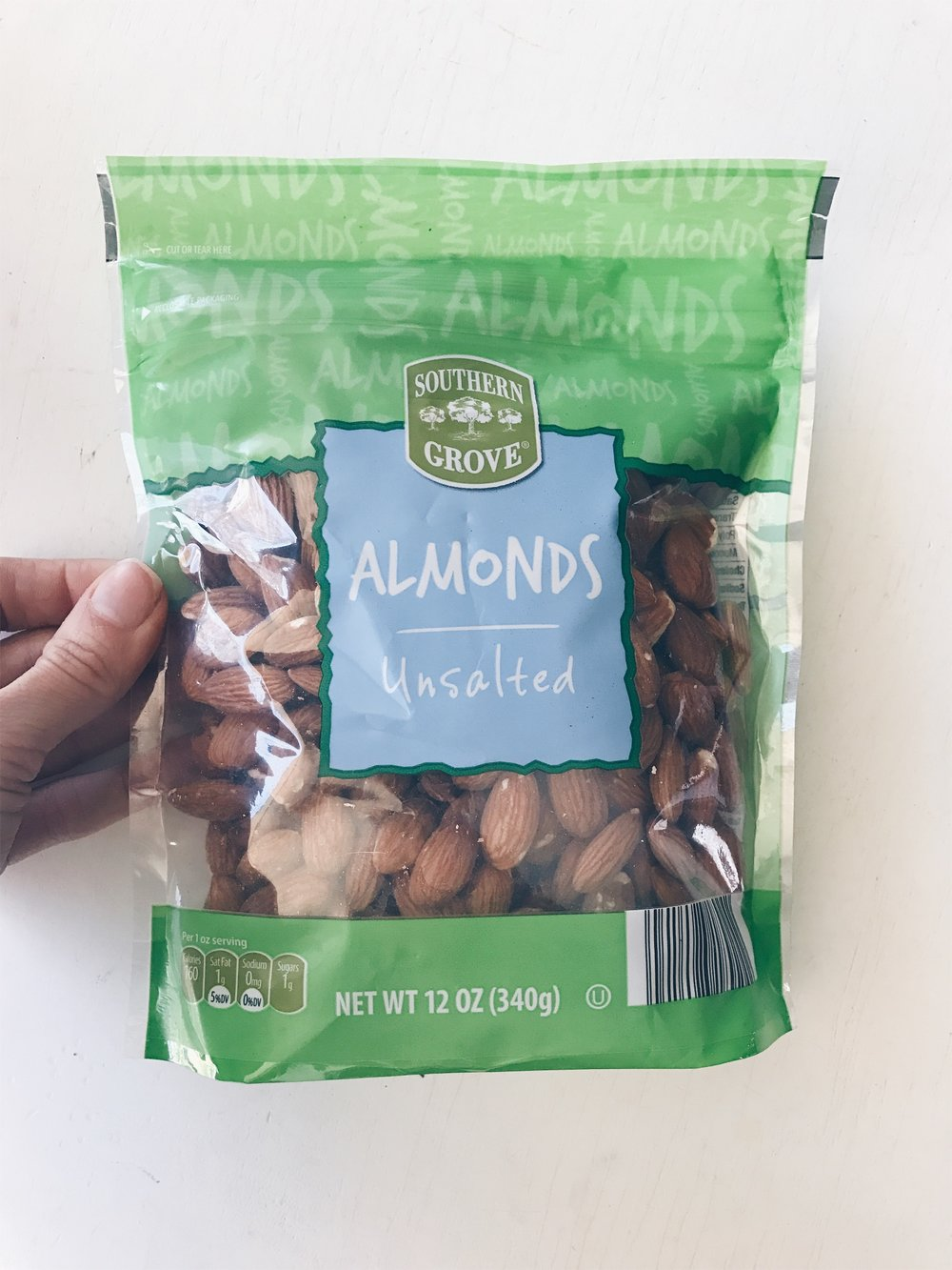 Ouch! Right? That is what I normally think of when I purchase nuts. They can be so expensive but they are so essential in our household. We have nuts in all our cars as an emergency snack. The raw almonds are my favorite but ALDI has a wide variety. And the great thing is they have the cheapest prices.