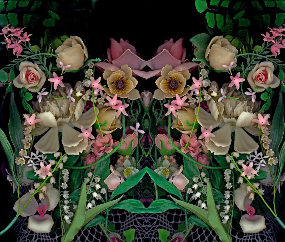 "pink mimicry, bioposy #3,digital c print, 2007, 24.5"" x 29"""