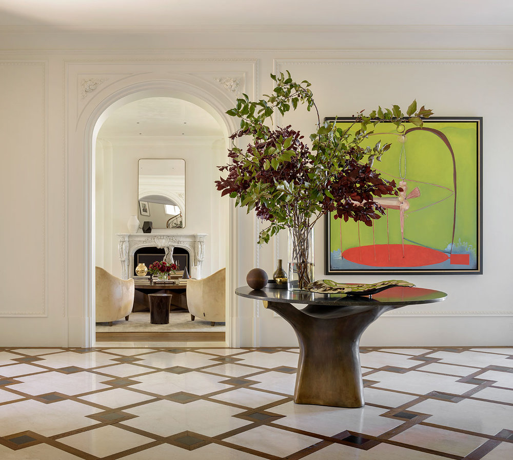 Pacific Heights residence / Design: Handel Interiors / Photo: Aaron Leitz / Styling: Yedda Morrison
