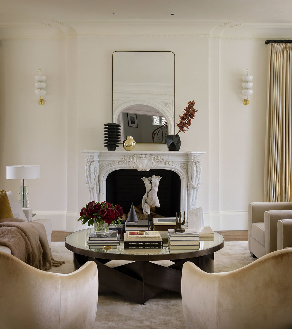 Pacific Heights residence / Handel Interiors / Photo: Aaron Leitz