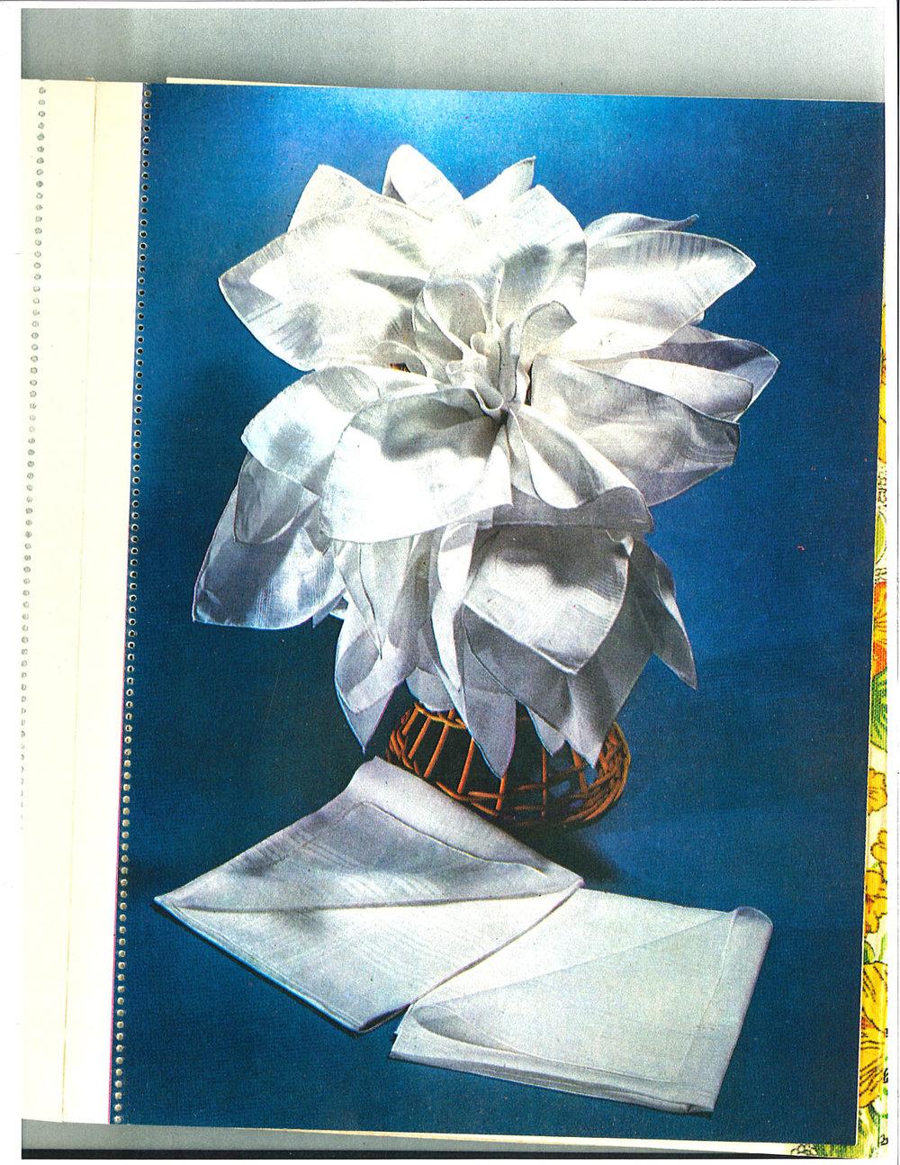 """Flower Sculpture , 2016 archival pigment print on paper, 44 x 32"""""""