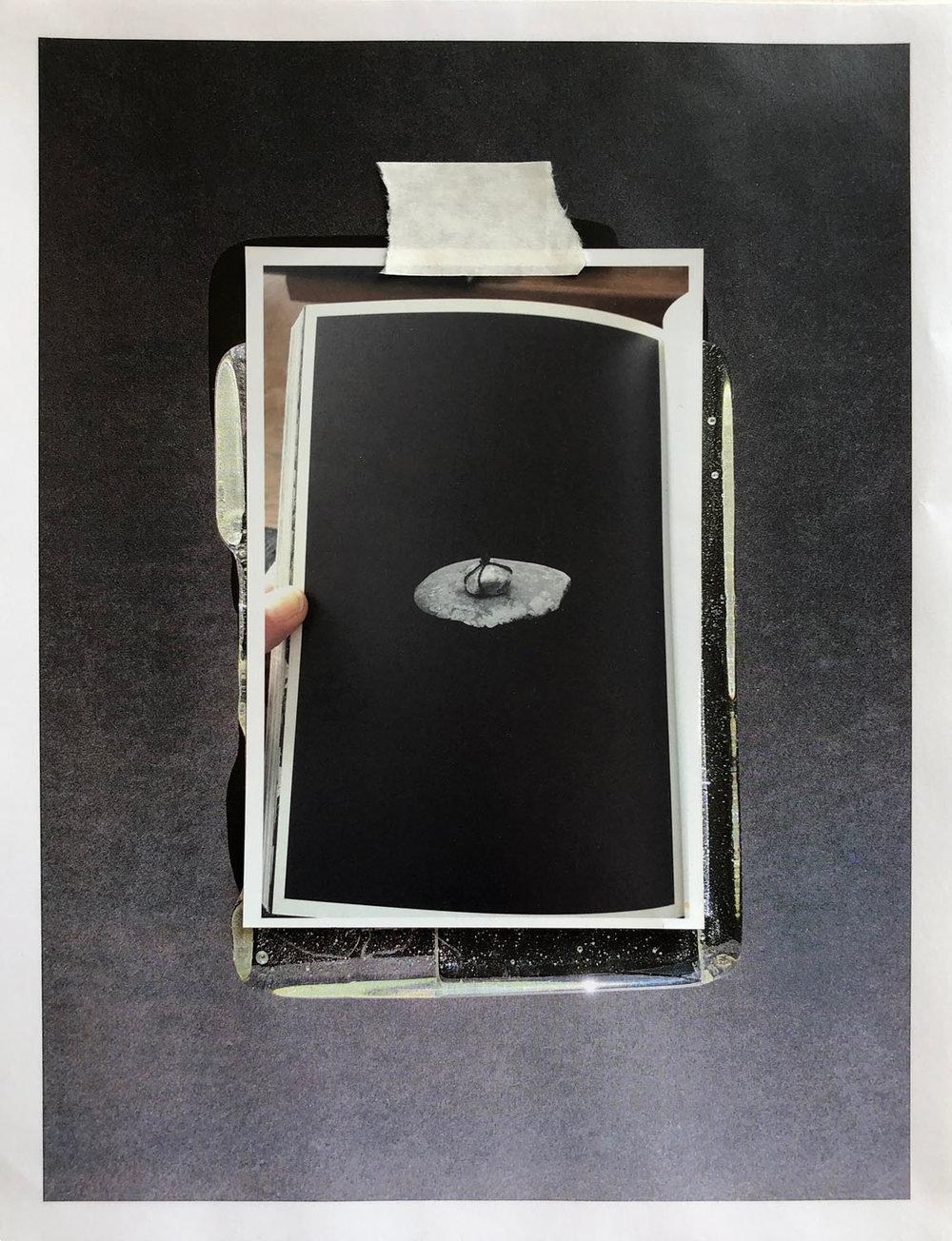 Third Eye , (detail from installation)
