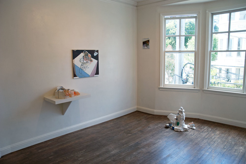 Chirality , 2011 (exhibition view)