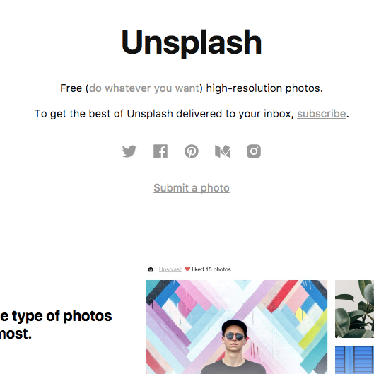 Unsplash   The best free, high-resolution stock photos