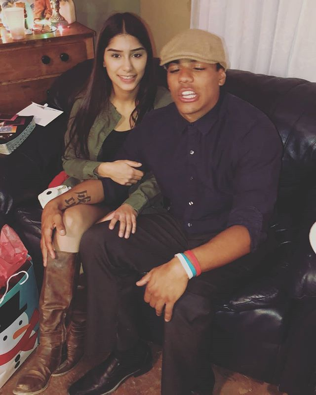 2 pictures from the Christmas Eve celebration last night with @lexx_cano & the fam bam! God is Good & God is great! Blessed to have this wonderful woman in my life!! #BlessUp #MerryChristmas #HolidaySeason #LoveLife #Happiness
