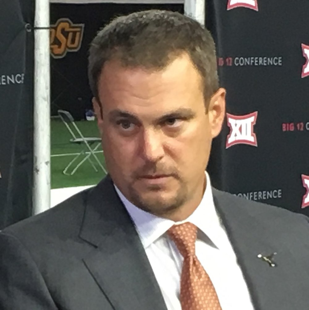 Texas Longhorn coach Tom Herman. By Bobak Ha'Eri [CC BY 3.0  (https://creativecommons.org/licenses/by/3.0)], from Wikimedia Commons