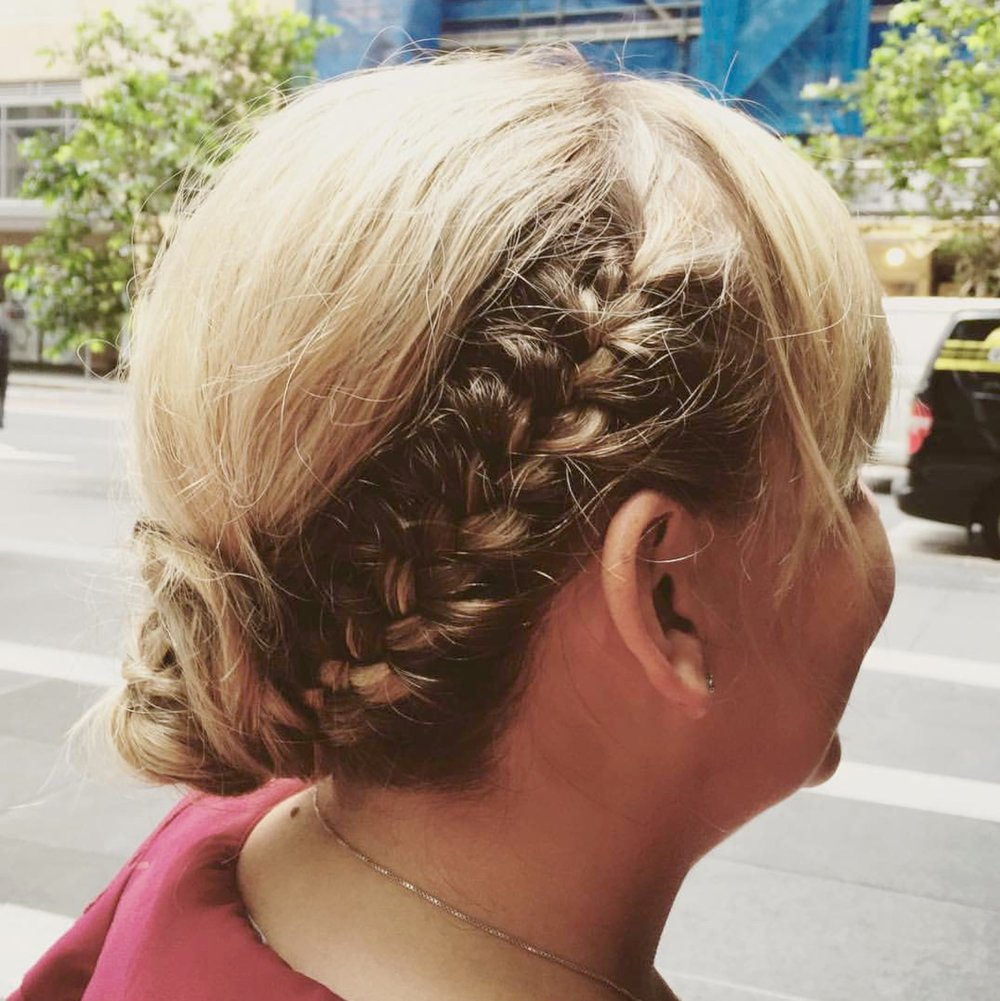 Casual Look - Braids can be incorporated into any look, from street casual to ceremonial.