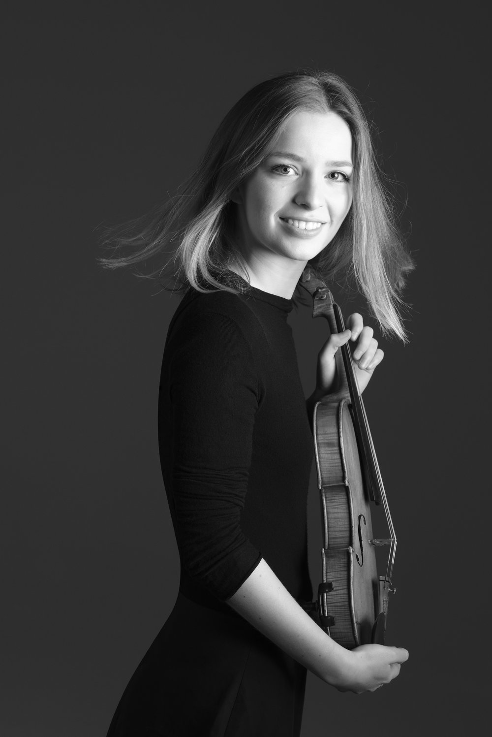 Clara Evens (viool)