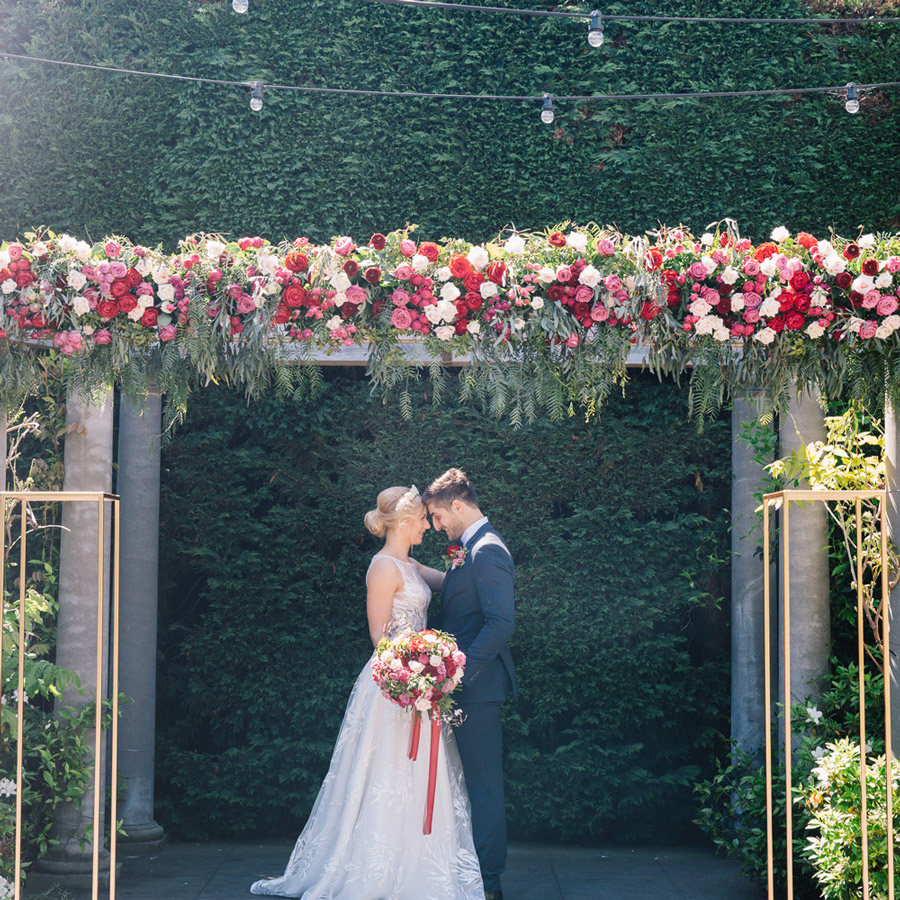 WEDDING CEREMONY - Celebrate on site. Catering for all weather in several carefully designed impressive spaces.