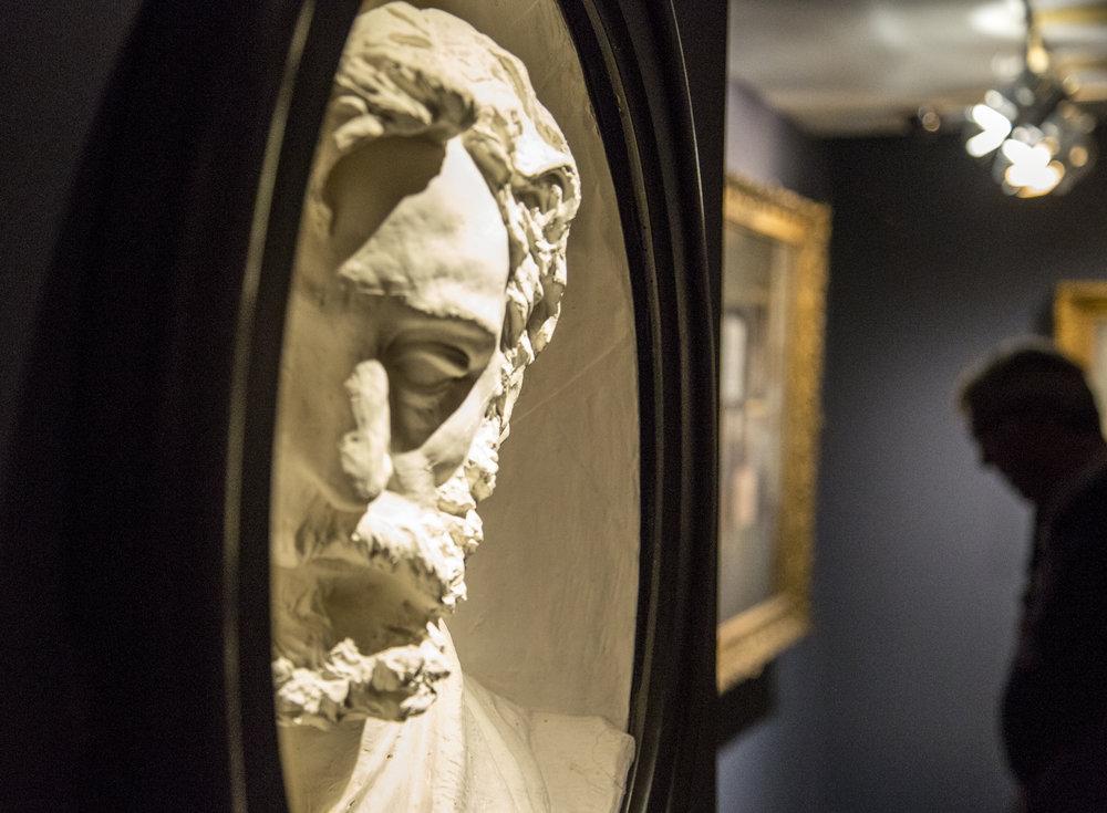 Portrait De Frederic Bazille, by Phillipe Solari at the Musee D'Orsay, Paris, France.