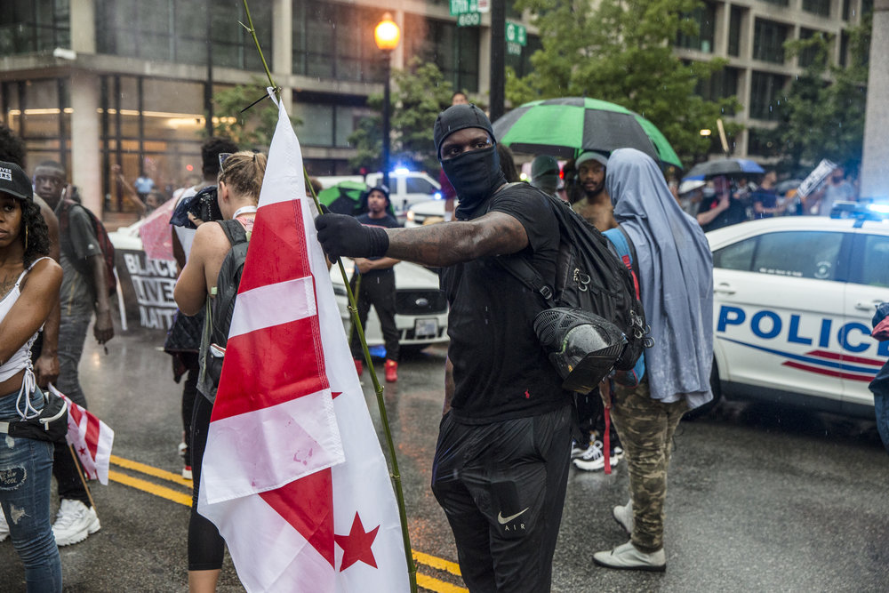 Crowds of protestors disperse as word spreads that the Unite The Right 2 rally had been shuttered and it's attendees had been bussed out of the city.