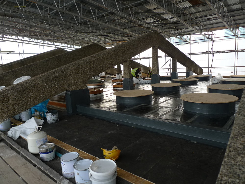 Progress of Reroofing Project at CCBC.JPG