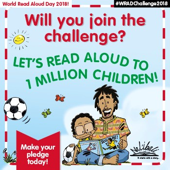 World Read Aloud Day Nal'ibali David Philip