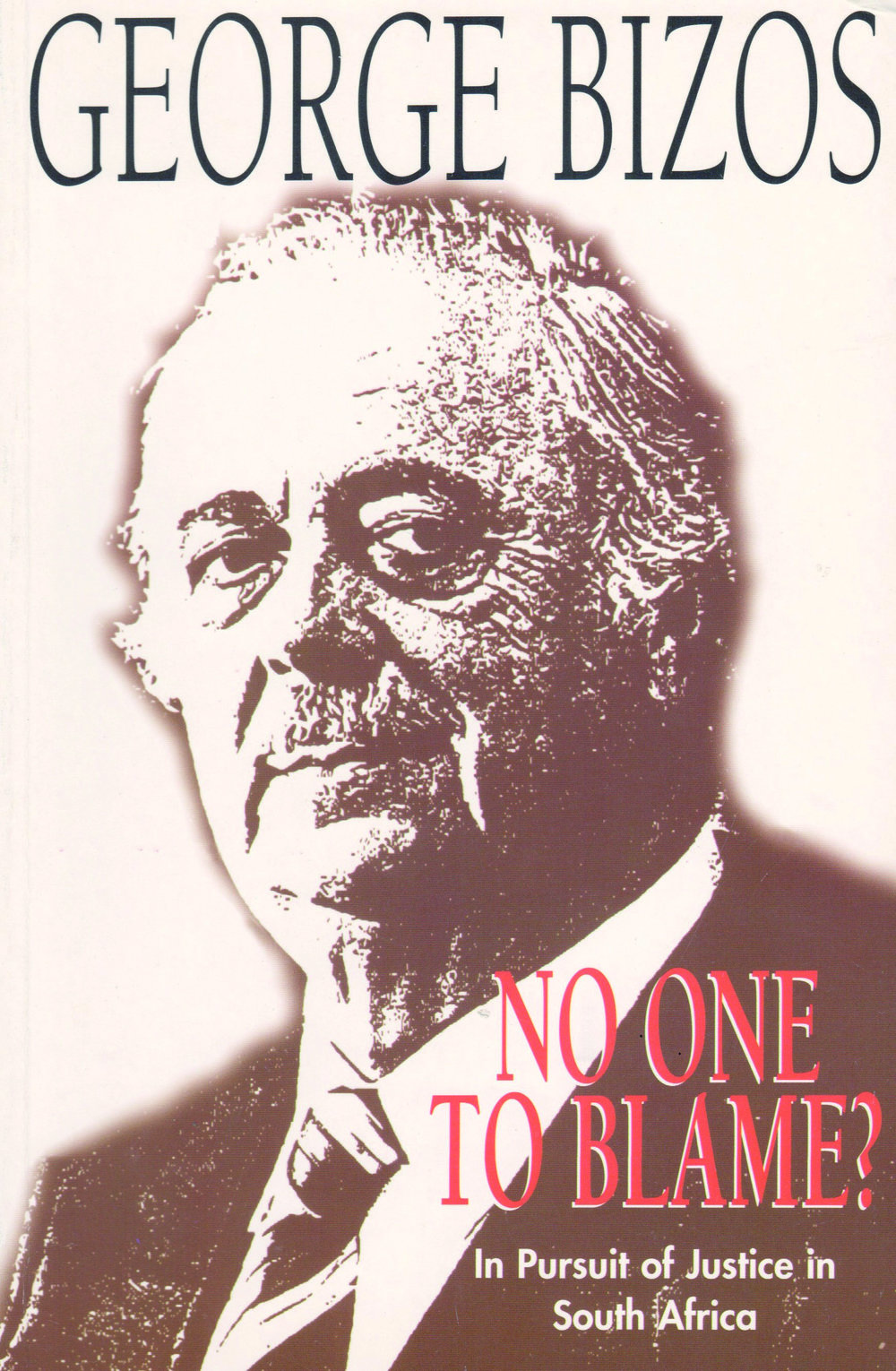 No one to Blame? - George Bizos