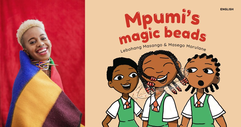 Lebohang Masango Mpumi's Magic Beads Buy Online New Africa Books