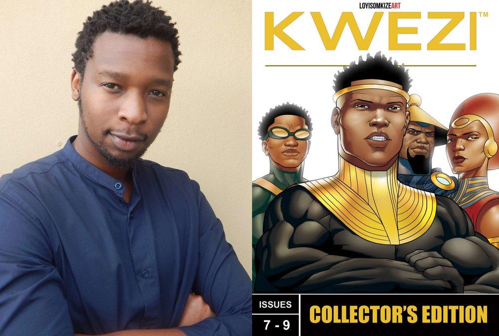 Loyiso Mkize Kwezi Comics Buy Online New Africa Books