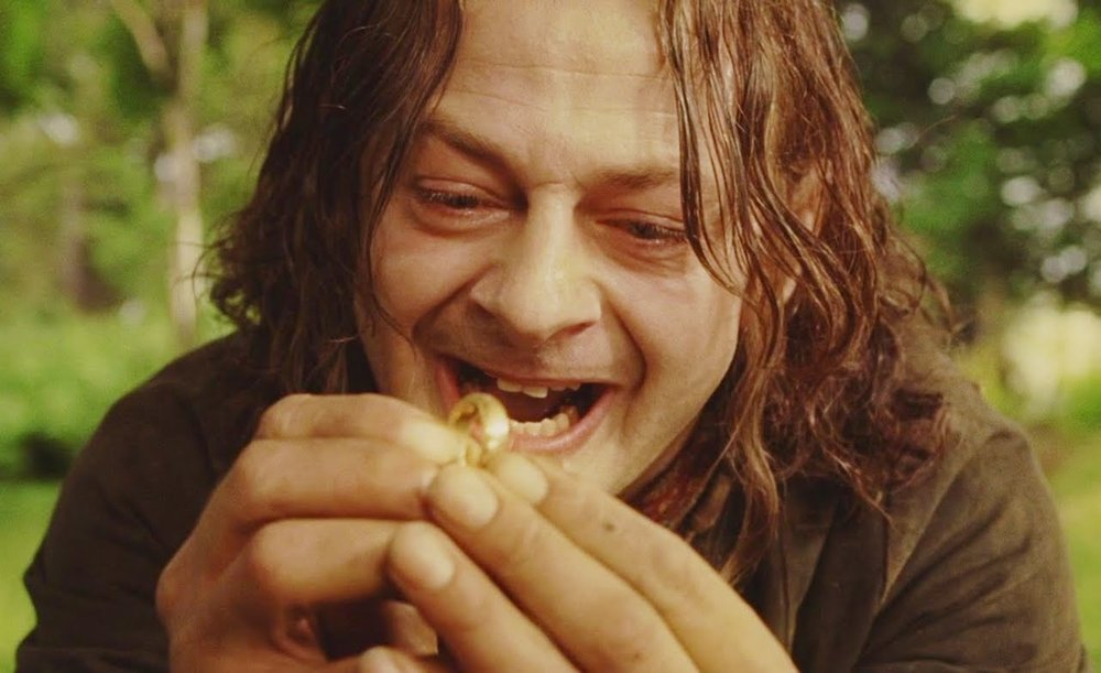 Gollum/Smeagol - You're looking for a guy so broken that everyone else has given up hope. He will betray you time and time again, but its all worth it to have a shot at being the one to 'fix' him. Wasting your time, love.