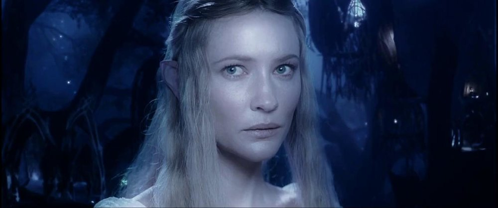 Galadriel - Fiercely beautiful and frankly pretty scary, Galadriel is almost certainly out of your league. Still, the Universe loves a tryer.