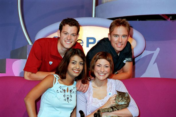 The ultimate Blue Peter lineup.   Image Source:  The Mirror