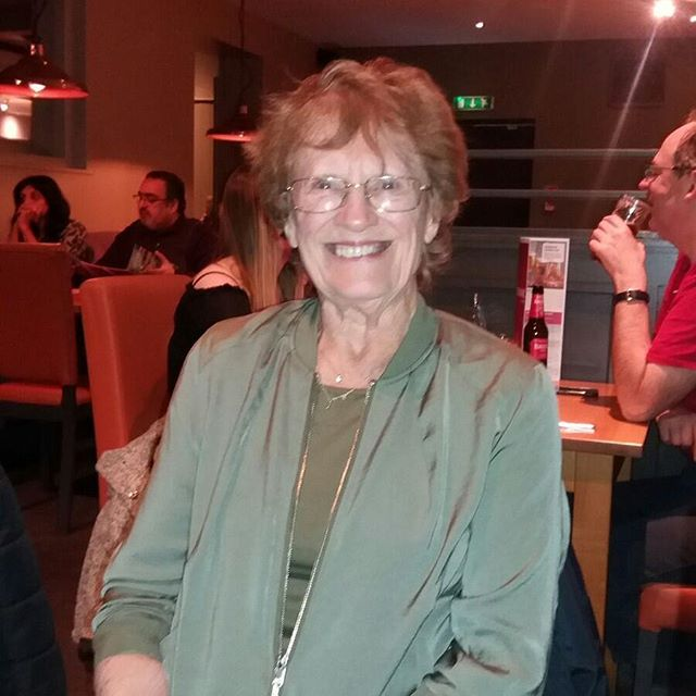 (Almost) 77 years young! #grandma #love you #greatgenes