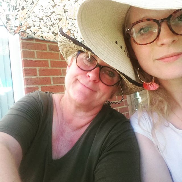 Definitely haven't drunk a whole tankard of pimms 😂😂😂 #likemotherlikedaughter #bbq #sun #sunday #goodvibes only