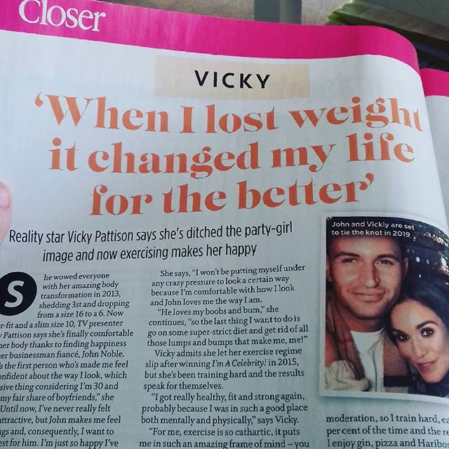 What an inspiring headline for young magazine readers everywhere! Lol jk get it together #closer magazine 🙅🙅🙅 #bodypositive #bodypositivity