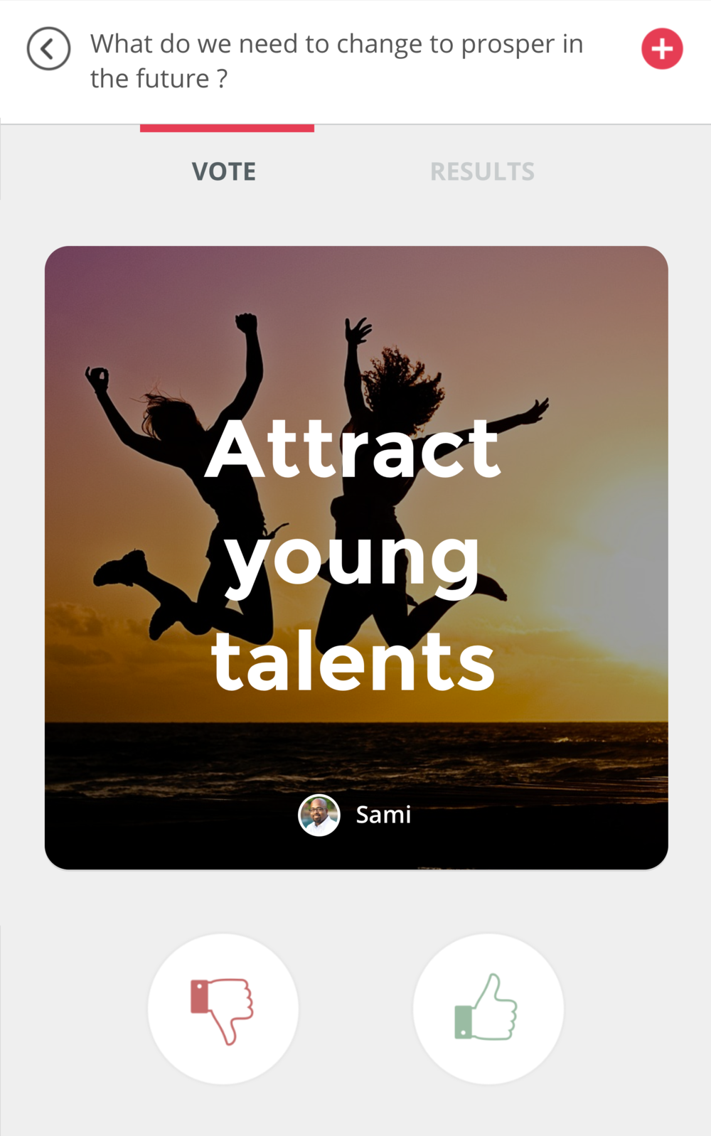 Attract young talents