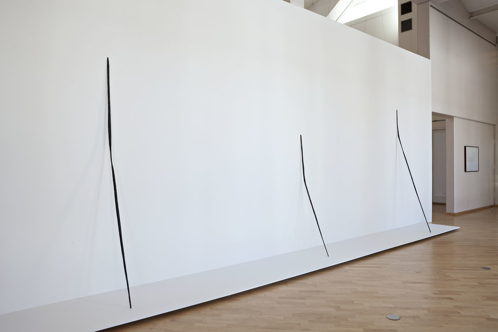 Installation view, Jan Groth, New works and projects, Drammens Museum, Drammen 2009