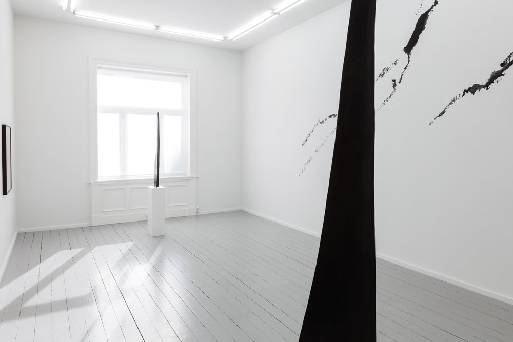 Installation view, Jan Groth, Galleri Riis Oslo. Photographer: Adrian Bugge