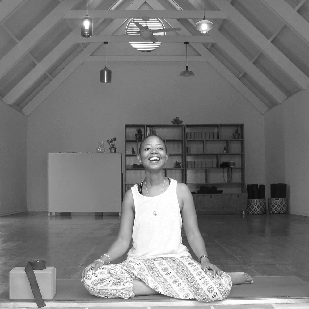 NOMZAMO MJI - For me, yoga is about helping students identify and make peace with the violence they inflict on themselves so that they can move to becoming a safe space for themselves and others. I teach Hatha yoga to beginners and intermediate levels of yoga. I speak English.