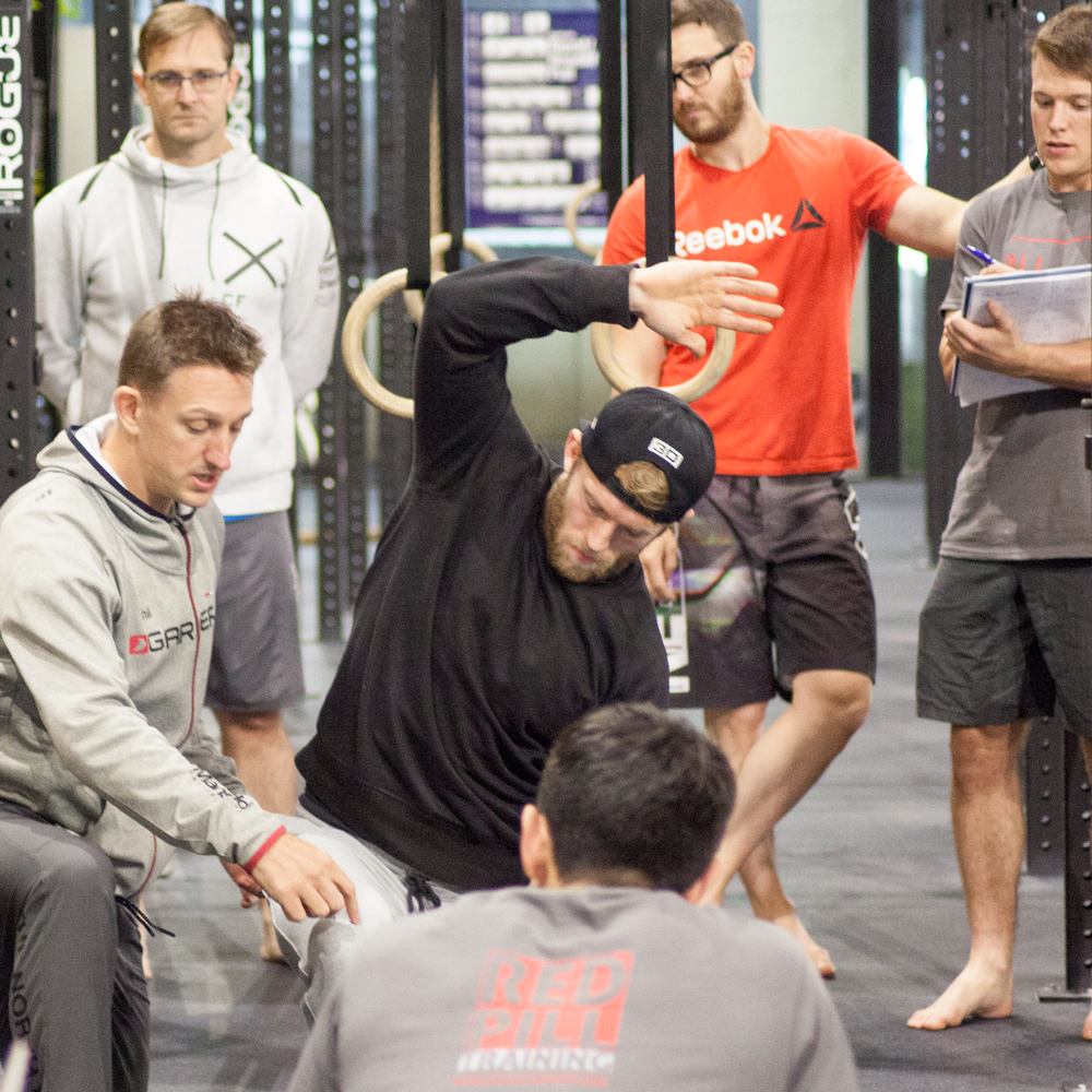 'Movement Assessment' - The 'Movement Assessment' Seminar will start you on the journey of becoming a REDPILL assessor. you will be challenged to assess athletic movement in 3 planes.By the end of the 2 day seminar you will be able to perform a biomechanical assessment of an athlete and develop A PLAN TO INCREASE THEIR EFFICIENCY IN MOVEMENT AND THEREFORE PERFORMANCE. THIS CAN BE APPLIED TO ALL LEVELS OF ATHLETE.