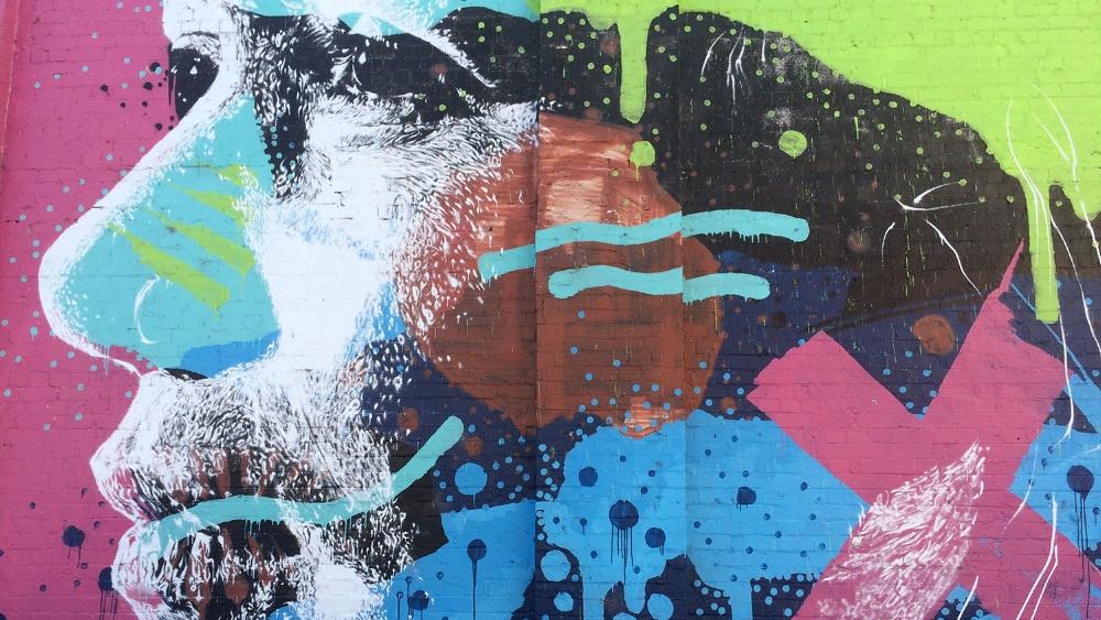 King Street Mural. Artist: Askew One, 2013