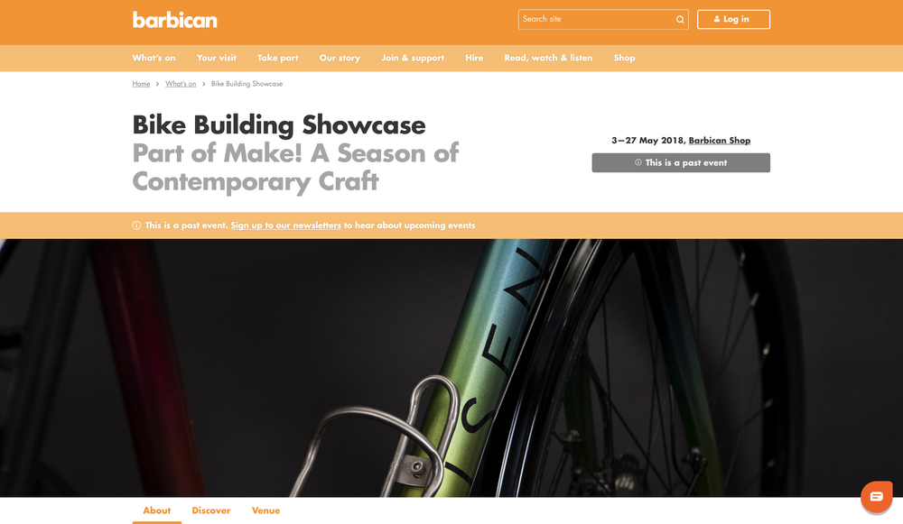 Barbican   Bike Building Showcase