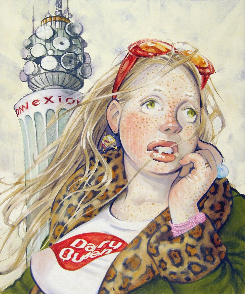 Chill, 2011, oil on canvas, 28 x 23 inches