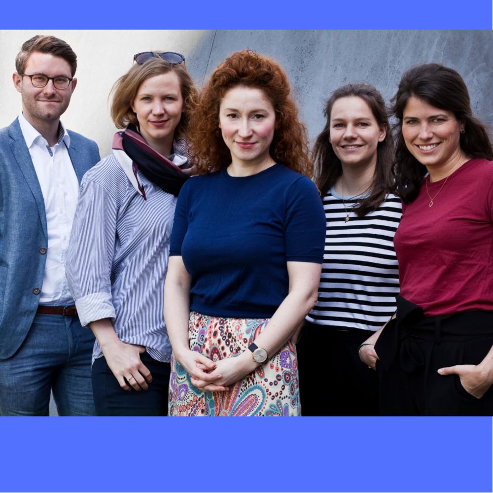 v.r.n.l.: Lennart Schneider, Cathrin Scharkowski, ich selbst, Ina Mortsiefer, Debora Schnitzler
