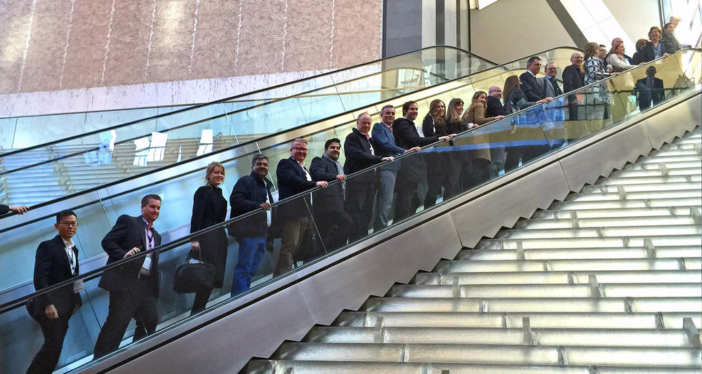 Study Tour visit to Hearst Corporation in New York City during our Big Data for Media Tour in 2016.