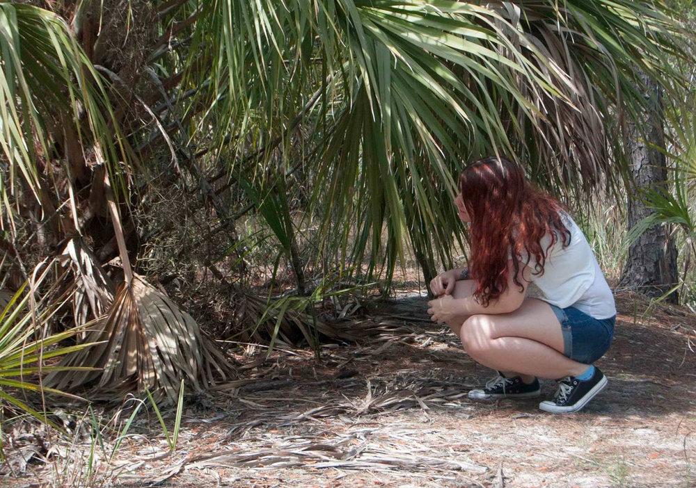 In my natural habitat.