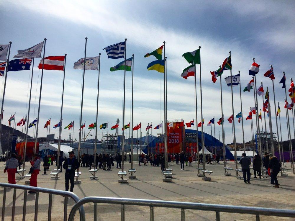 Olympijský areál v PyeongChangu