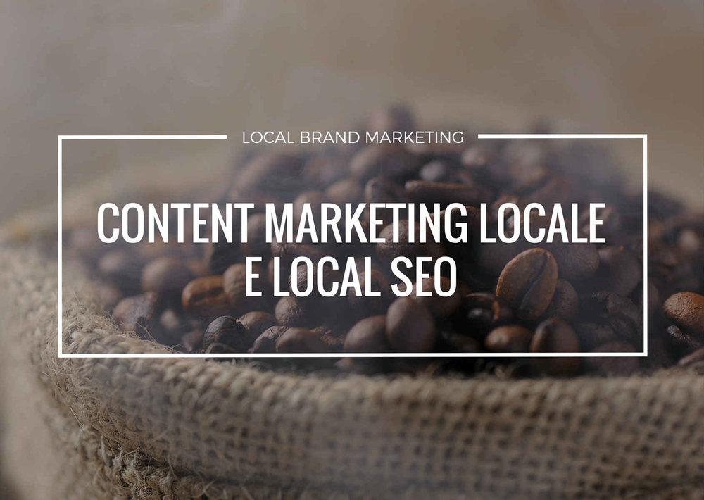 content marketing locale e seo locale per aumentare la visibilità locale dell'azienda