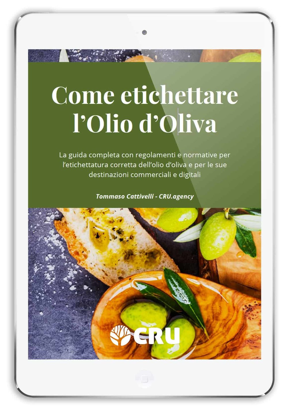 Guida completa per etichettare l'olio d'oliva