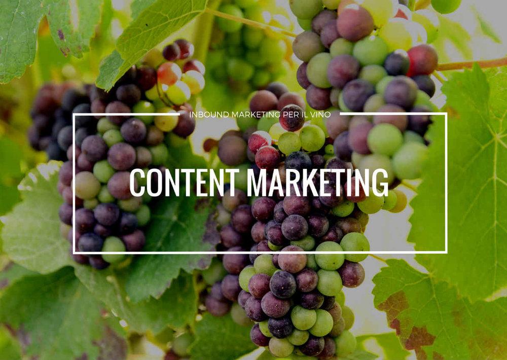 content marketing per il settore vitivinicolo è uno dei migliori metodi di marketing del vino