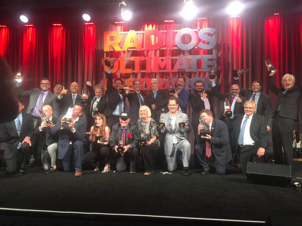 Group photo with Marconi Award recipients
