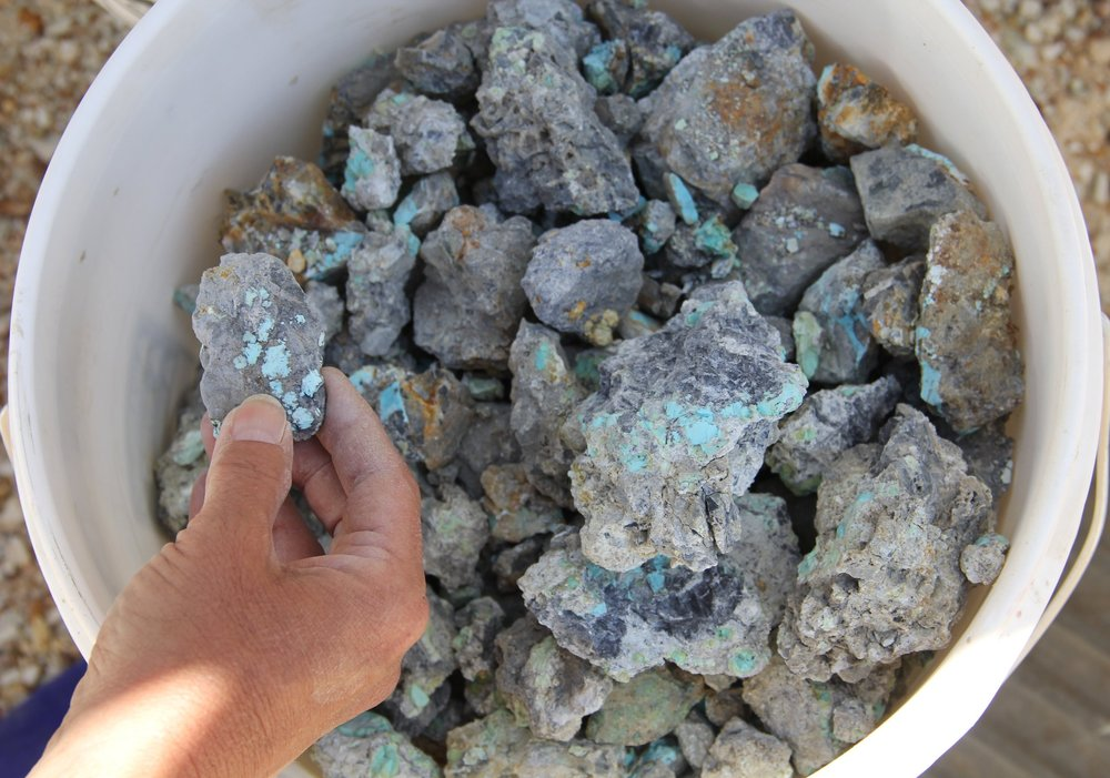 Blue Moon Turquoise Rough