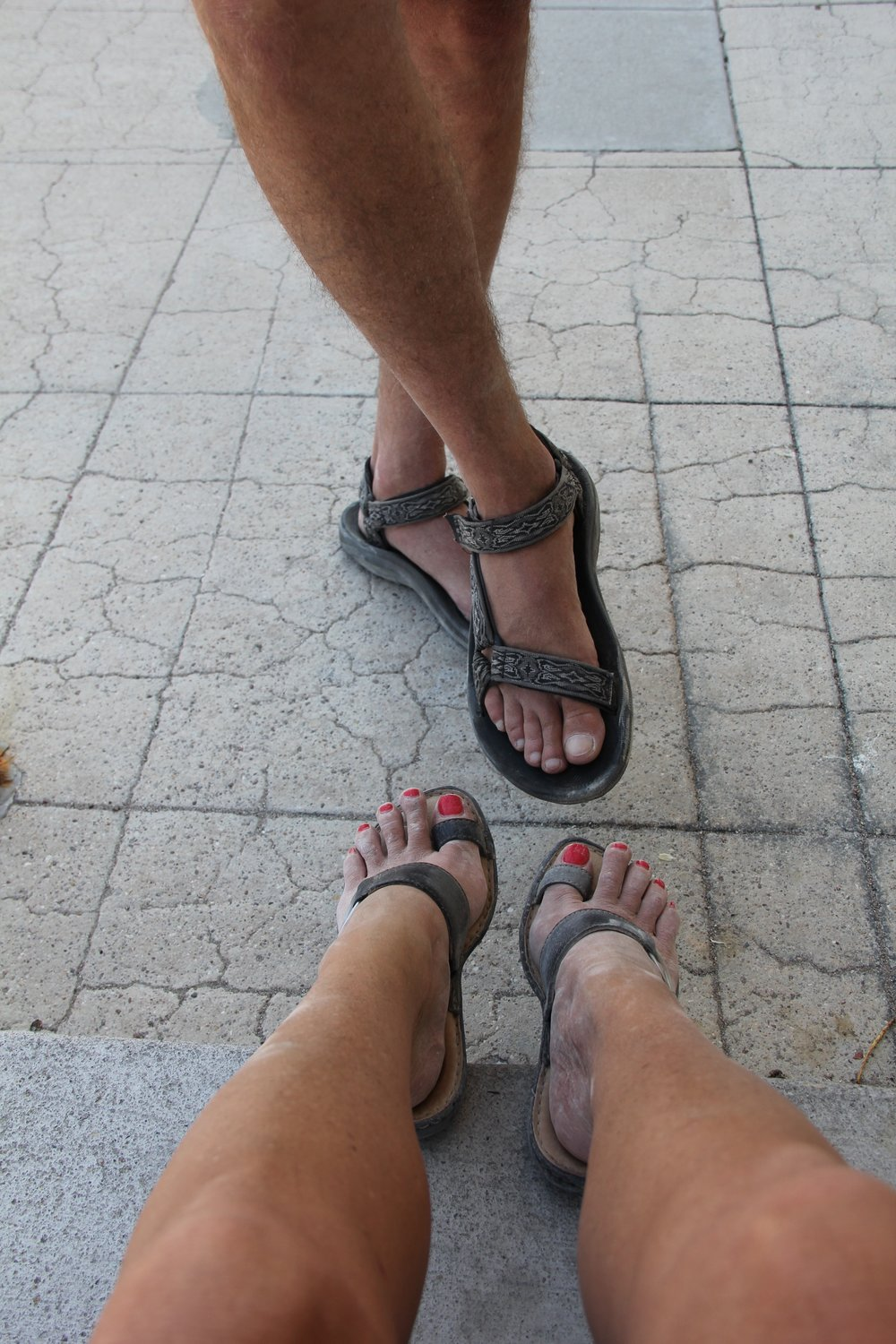 Miners Feet (My Dad Still Can't Believe I Mine In Sandals!
