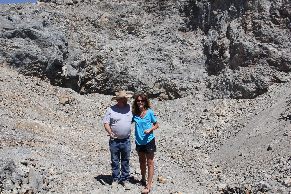 My Favorite Picture Of Dean and I at The Blue Moon Mine